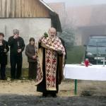 Župnik Mile Vranešić blagoslovio je cestu Hartje - Sopote - Sošice.