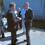 Pomoćnik ministra zaštite prirode Nenad Strizrep i načelnik Zdenko Šiljak
