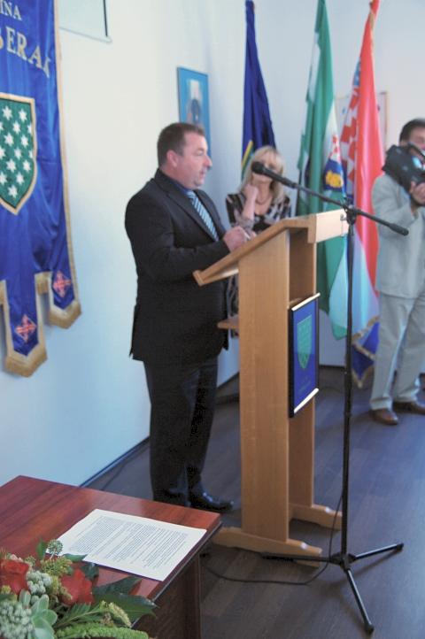 g. Ivica Berdik, predsjednik općinskog Vijeća općine Žumberak