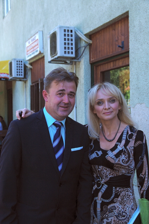 Gđa. Ljiljana Meštrić i načelnik općine Žumberak g. Zdenko Šiljak