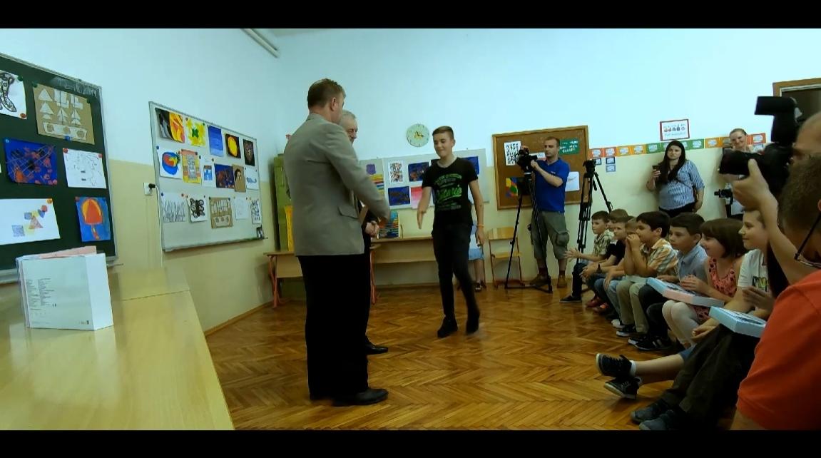Donacija Općine Žumberak O.Š. Kostanjevac – Podjela darova