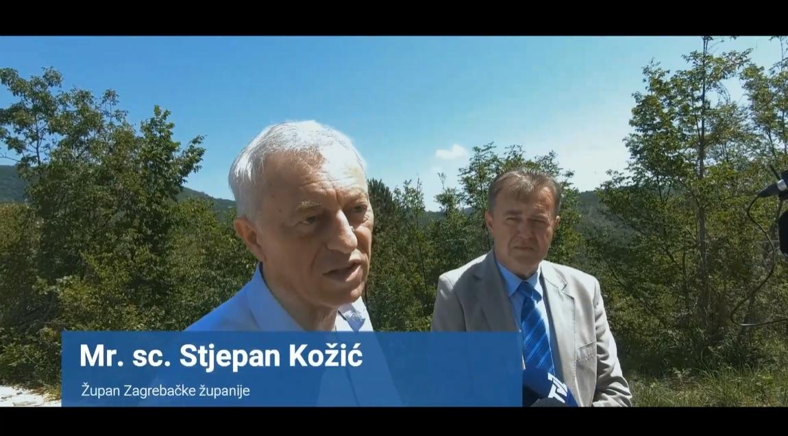Posjeta župana Kožića – izgrađena nova prometna infrastruktura u Žumberku