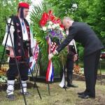 FOTO: Svečano otkrivanje spomen-biste pukovniku Miroslavu Perisu